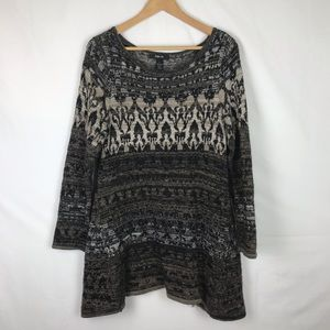 Style and Co Sweater Tunic Size L
